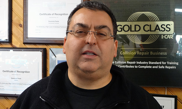 Dominick Pardo, Co-Owner, Westfield Collision Center