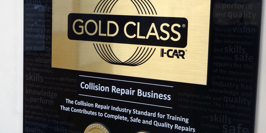 I-Car Gold Class Certified Technicians