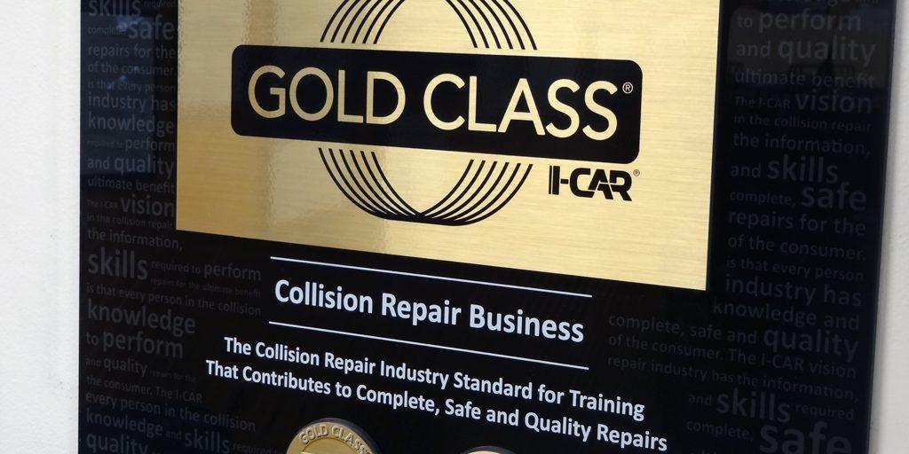 I-Car Gold Class Certified Technicians